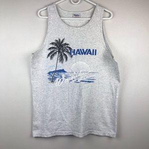 VTG Waikiki Hawaii  Sing Stitch Tank Top Shirt